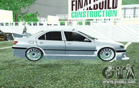 PEUGEOT 406 SL TAXI 2 for GTA San Andreas left view