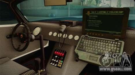 GTA 5 Bravado Banshee Supercop IVF for GTA San Andreas inner view