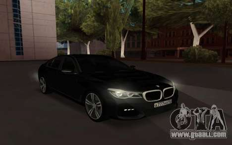 BMW 760i 2017 for GTA San Andreas