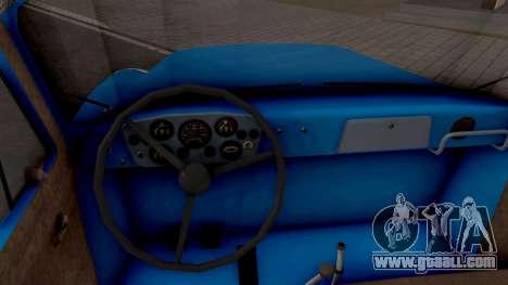 GAZ 52-03 for GTA San Andreas inner view