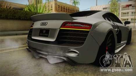Audi R8 V10 Plus LB Performance for GTA San Andreas interior