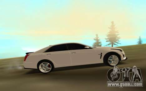 Cadillac CTS 2016 for GTA San Andreas left view