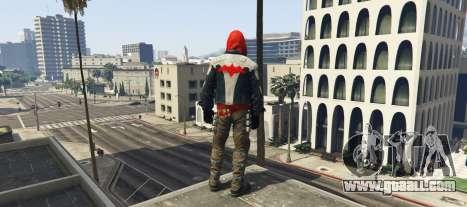 GTA 5 BAK Red Hood second screenshot