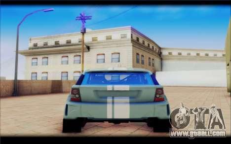 Maps Bowler Nemesis for GTA San Andreas back view