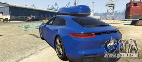 GTA 5 Porsche Panamera 2017 left side view