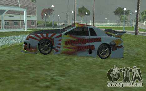 NEW PAINT JOB WHITE ELEGY for GTA San Andreas left view