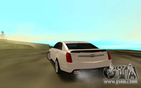 Cadillac CTS 2016 for GTA San Andreas back left view