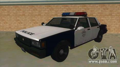 HD LVPD Police Cruiser for GTA San Andreas
