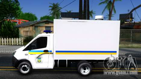 GAZelle NEXT Van of Ukraine for GTA San Andreas