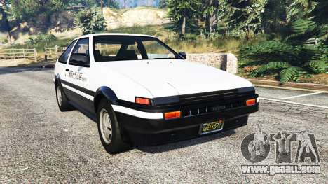 Toyota Sprinter Trueno GT-Apex (AE86) [replace] for GTA 5
