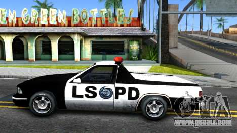 New Police Car for GTA San Andreas left view