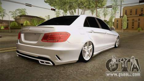 Mercedes-Benz E63 AMG 2016 for GTA San Andreas left view