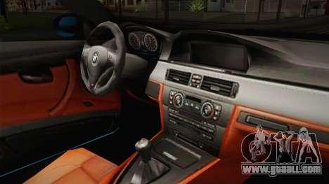 BMW M3 E92 for GTA San Andreas