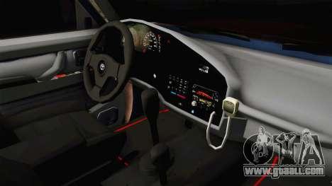 Toyota Land Cruiser 80 for GTA San Andreas inner view