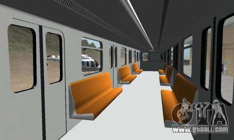 Metrostav type E-KM for GTA San Andreas interior