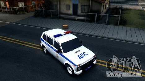 Lada 4x4 21310-59 Urban 2016 Russian Police for GTA San Andreas right view
