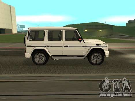 Mercedes-Benz AMG G65 Armenian for GTA San Andreas left view