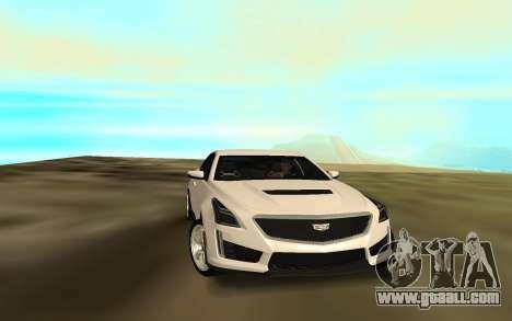 Cadillac CTS 2016 for GTA San Andreas