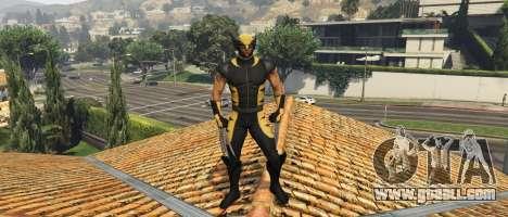 GTA 5 The Wolverine (Hugh Jackman 2013)