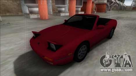 Nissan 240SX Cabrio for GTA San Andreas
