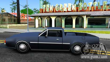 Clover Pickup for GTA San Andreas left view