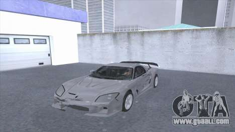 Mazda RX-7 VeilSaid LM for GTA San Andreas back view