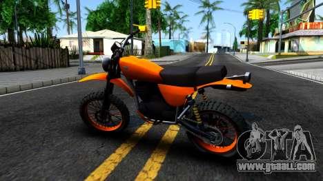 GTA V Dinka Enduro for GTA San Andreas left view
