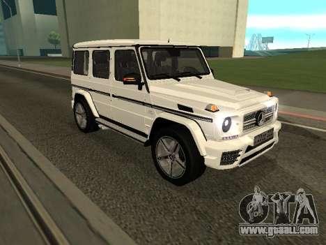 Mercedes-Benz AMG G65 Armenian for GTA San Andreas