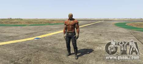 GTA 5 Drax Guardians of the Galaxy