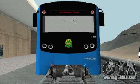 Metrostav type E-KM for GTA San Andreas inner view