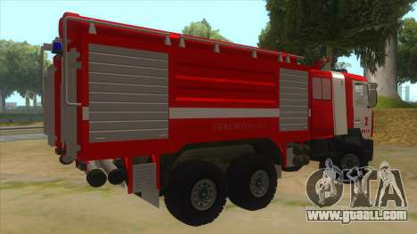 MAZ 5440 Fire for GTA San Andreas right view