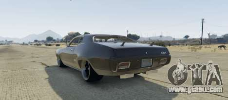 GTA 5 Plymouth GTX 1.1 left side view