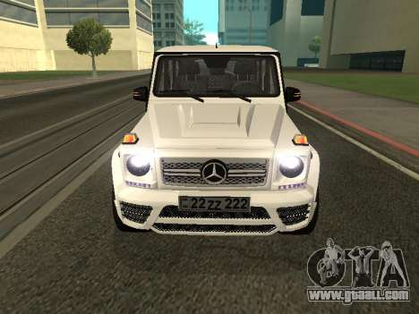 Mercedes-Benz AMG G65 Armenian for GTA San Andreas right view