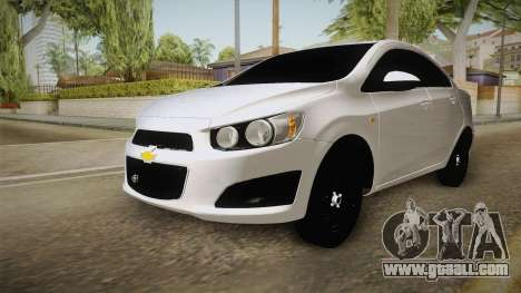 Chevrolet Sonic Beta for GTA San Andreas right view