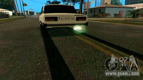 New tire tracks for GTA San Andreas second screenshot