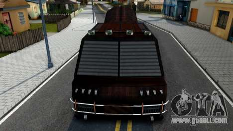 Bus of Future for GTA San Andreas inner view