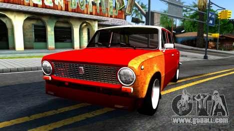 """VAZ 2101 GVR """"Komandos V2"""" for GTA San Andreas"""