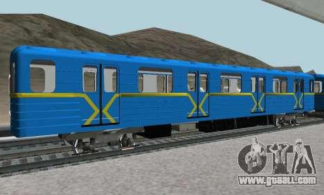 Metrostav type E-KM for GTA San Andreas upper view