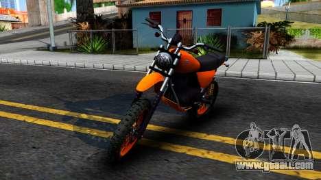 GTA V Dinka Enduro for GTA San Andreas