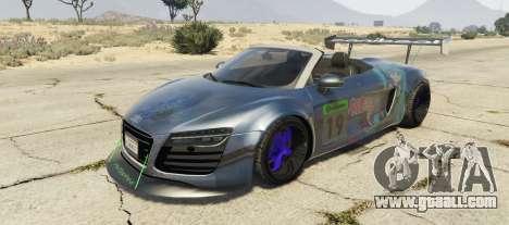 Audi Spyder V10 for GTA 5
