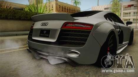 Audi R8 V10 Plus LB Performance for GTA San Andreas bottom view
