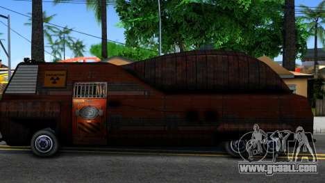 Bus of Future for GTA San Andreas left view