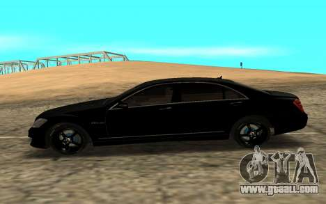 Mersedes-Benz S500 L for GTA San Andreas left view