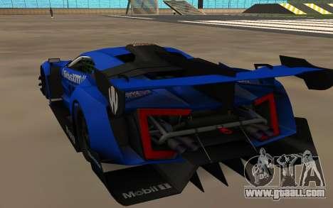 Lukan Hyper Sport for GTA San Andreas back left view