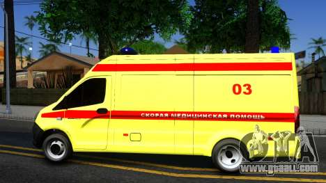 GAZelle Next Resuscitation for GTA San Andreas left view