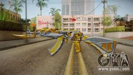 Cross Fire - AK-47 Beast Noble Gold v2 for GTA San Andreas third screenshot