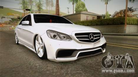 Mercedes-Benz E63 AMG 2016 for GTA San Andreas