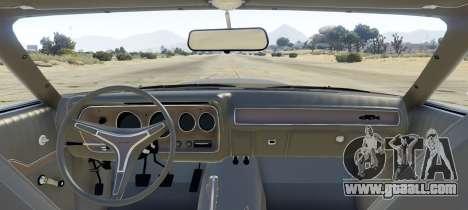GTA 5 Plymouth GTX 1.1 rear left side view