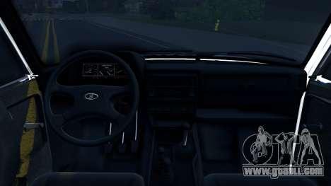 Lada 4x4 21310-59 Urban 2016 Russian Police for GTA San Andreas inner view