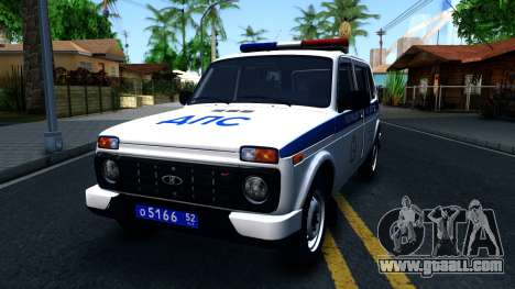 Lada 4x4 21310-59 Urban 2016 Russian Police for GTA San Andreas
